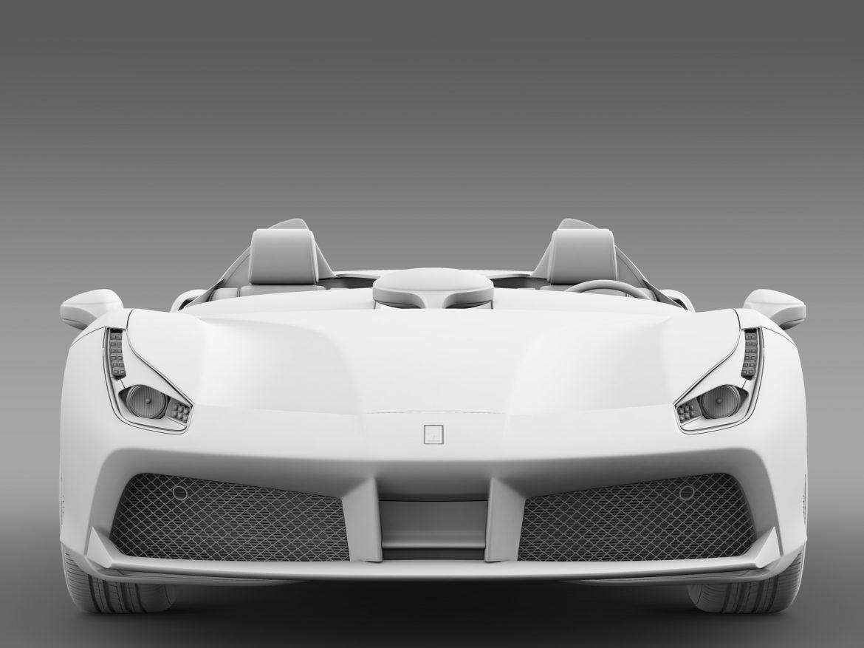 ferrari 488 speedster 2016 3d model 3ds max fbx c4d lwo ma mb hrc xsi obj 212736
