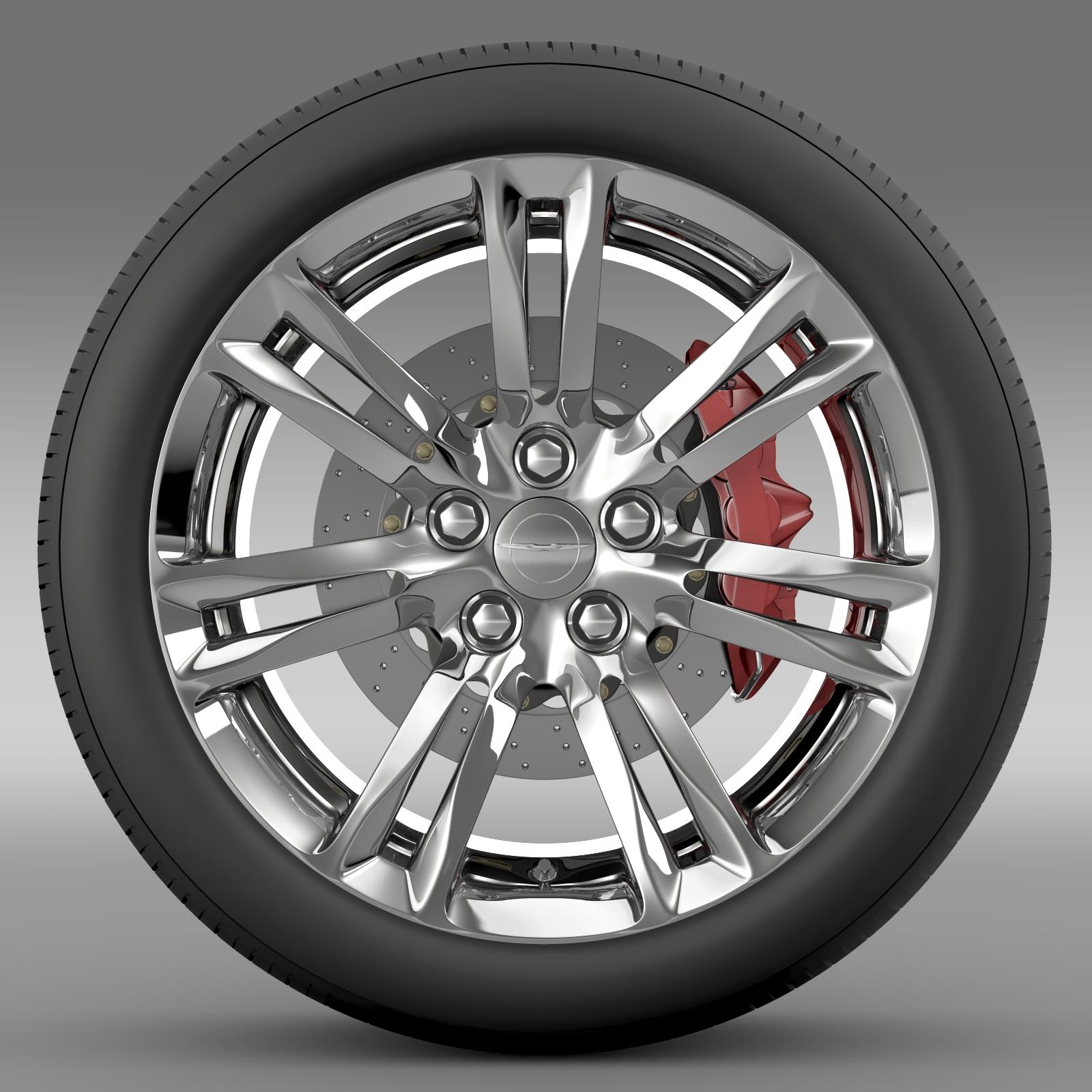 Chrysler Trucks 2015: Chrysler 300C 2015 Wheel 3D Model
