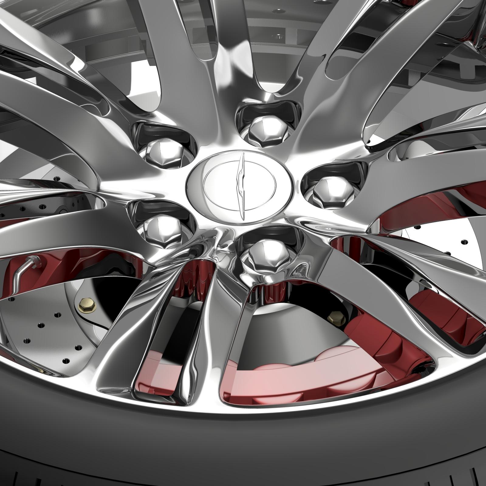 chrysler 300c 2015 wheel 3d model 3ds max fbx c4d lwo ma mb hrc xsi obj 212763