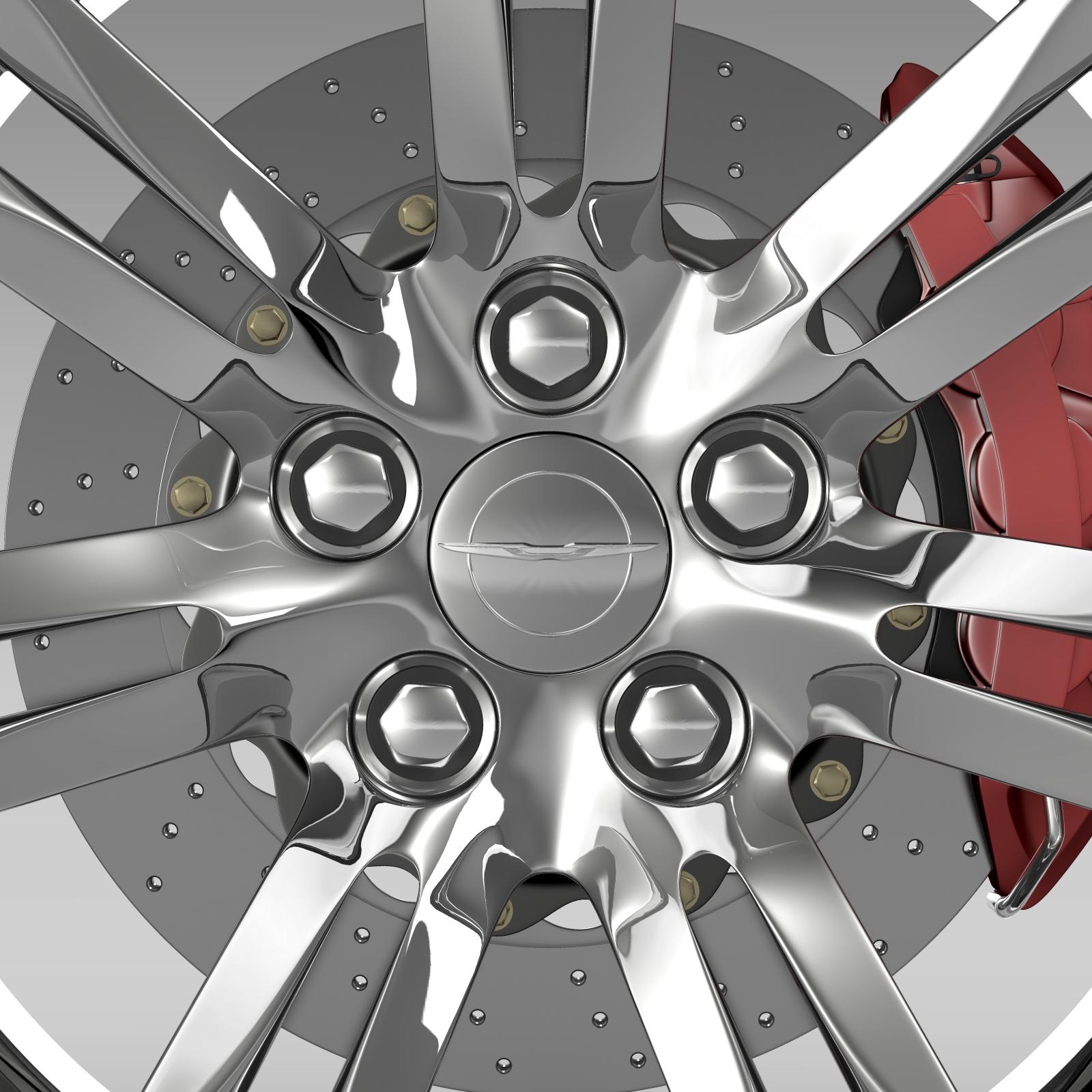 chrysler 300c 2015 wheel 3d model 3ds max fbx c4d lwo ma mb hrc xsi obj 212764