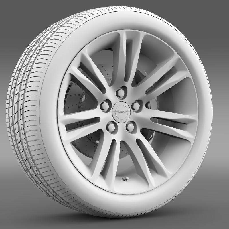 chrysler 300c 2015 wheel 3d model 3ds max fbx c4d lwo ma mb hrc xsi obj 212766