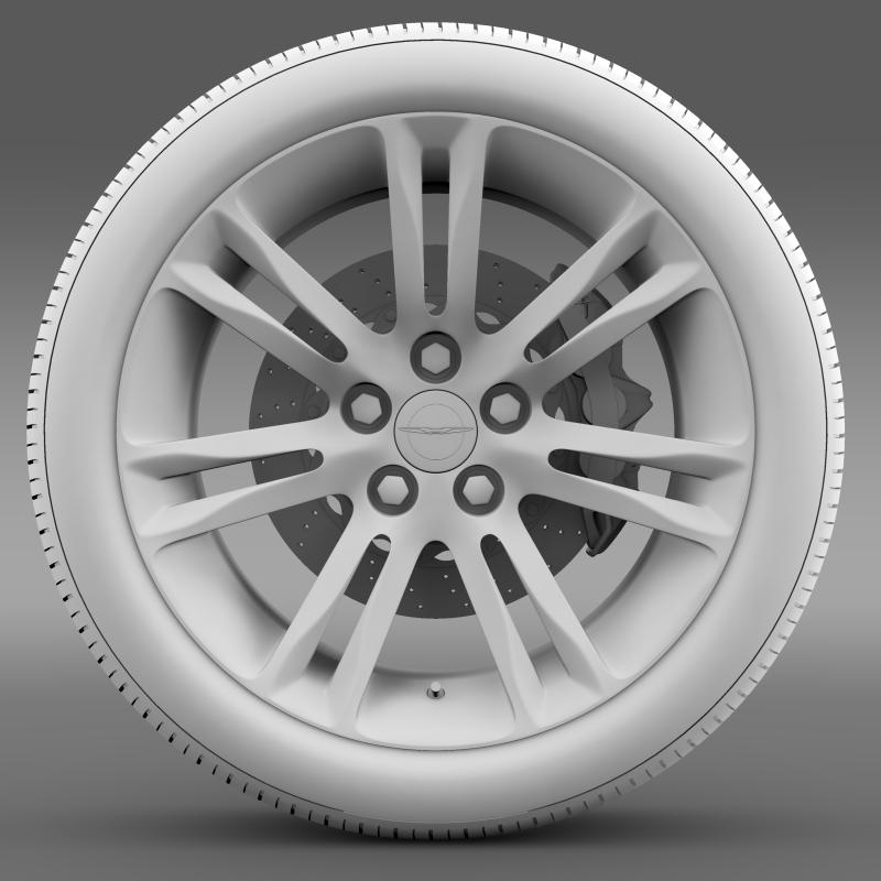 chrysler 300c 2015 wheel 3d model 3ds max fbx c4d lwo ma mb hrc xsi obj 212767