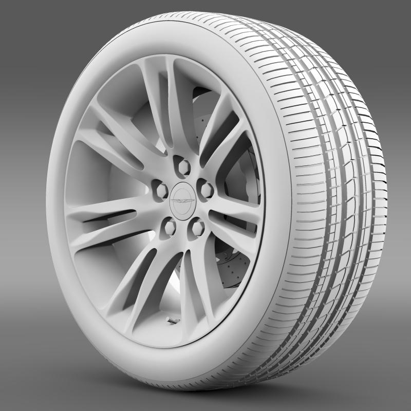 chrysler 300c 2015 wheel 3d model 3ds max fbx c4d lwo ma mb hrc xsi obj 212768