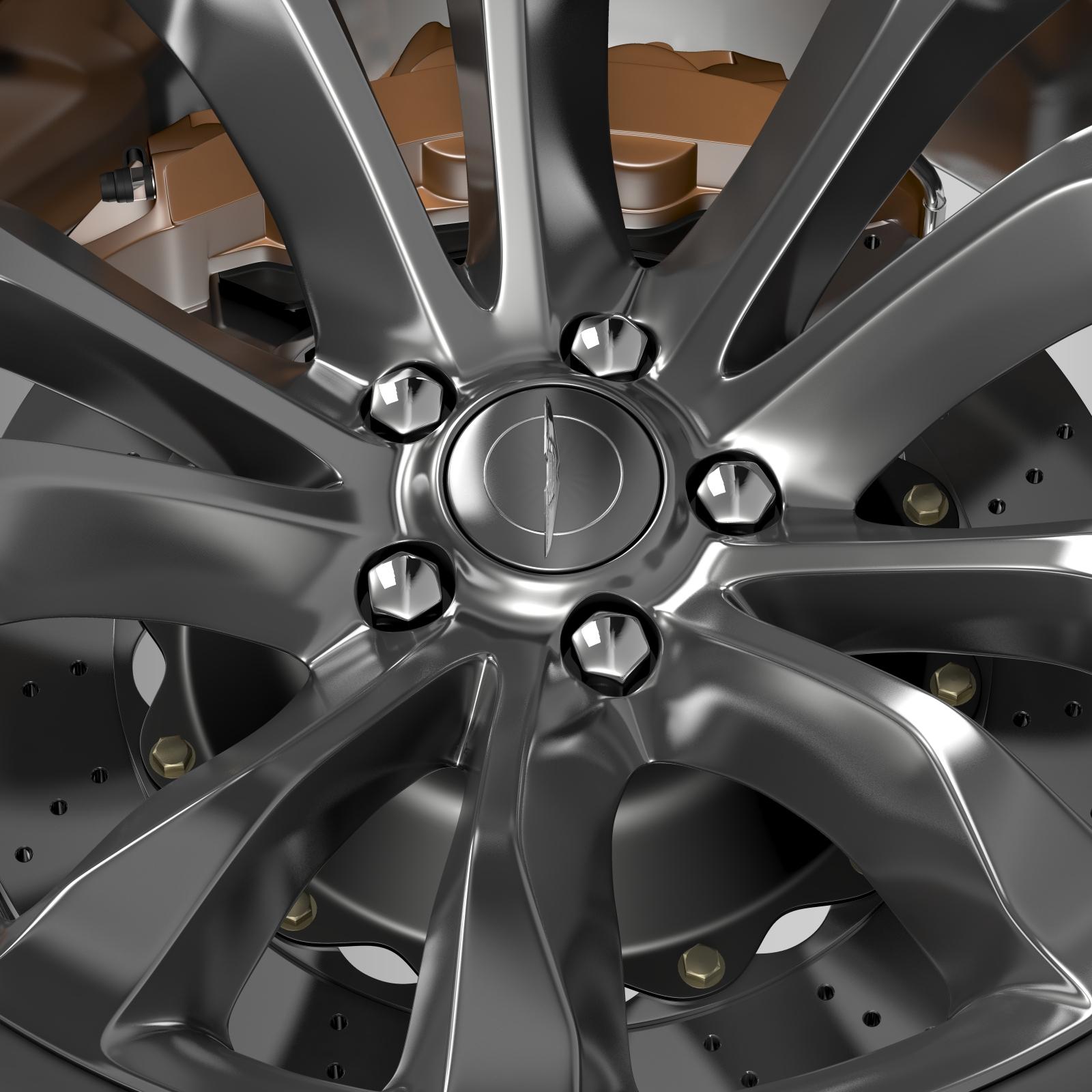 chrysler 300c platinum 2015 wheel 3d model 3ds max fbx c4d lwo ma mb hrc xsi obj 212781
