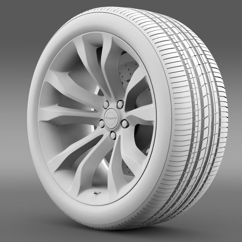 chrysler 300c platinum 2015 wheel 3d model 3ds max fbx c4d lwo ma mb hrc xsi obj 212784