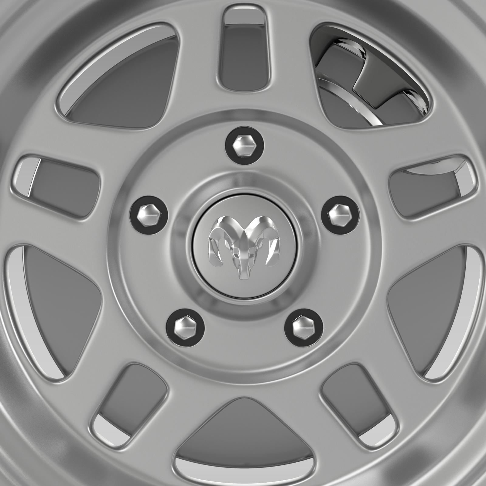 dodge challenger mopar wheel 3d model 3ds max fbx c4d lwo ma mb hrc xsi obj 212811