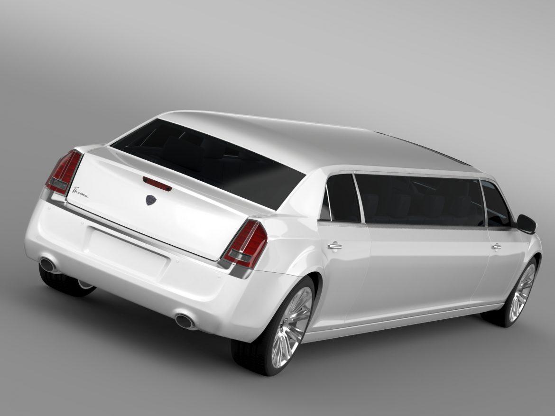lancia thema limousine 3d model 3ds max fbx c4d lwo ma mb hrc xsi obj 212848