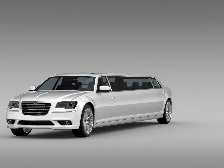 lancia thema limousine 3d model 3ds max fbx c4d lwo ma mb hrc xsi obj 212850