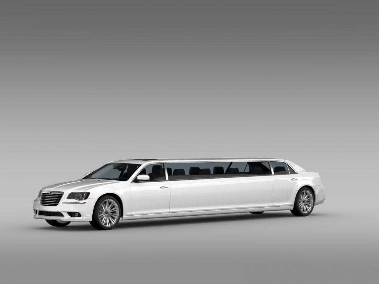 lancia thema limousine 3d model 3ds max fbx c4d lwo ma mb hrc xsi obj 212851