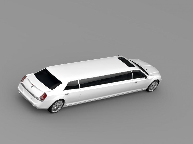 lancia thema limousine 3d model 3ds max fbx c4d lwo ma mb hrc xsi obj 212856