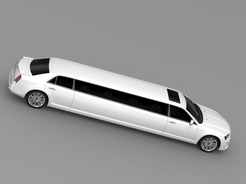 lancia thema limousine 3d model 3ds max fbx c4d lwo ma mb hrc xsi obj 212857