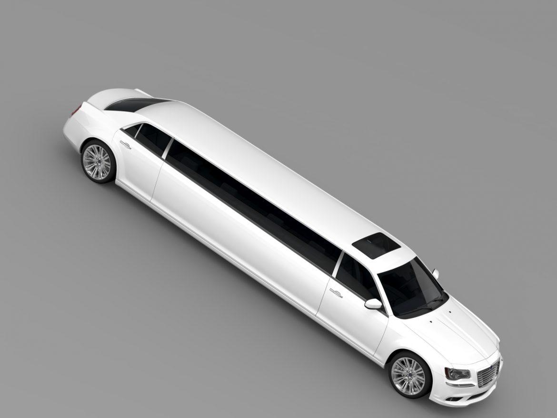 lancia thema limousine 3d model 3ds max fbx c4d lwo ma mb hrc xsi obj 212858