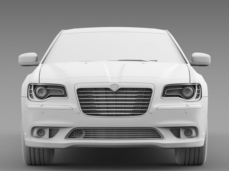 lancia thema limousine 3d model 3ds max fbx c4d lwo ma mb hrc xsi obj 212859