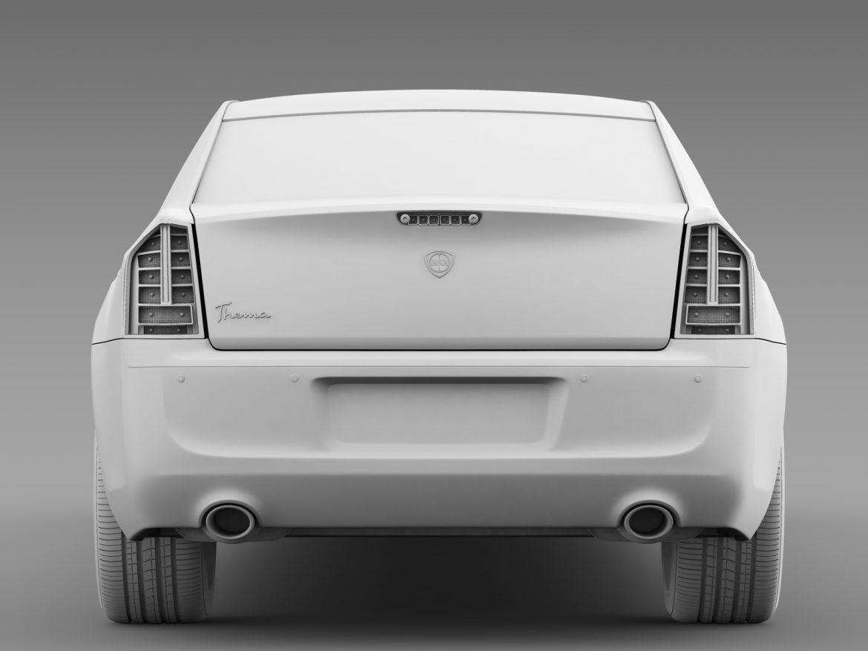 lancia thema limousine 3d model 3ds max fbx c4d lwo ma mb hrc xsi obj 212860