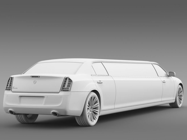 lancia thema limousine 3d model 3ds max fbx c4d lwo ma mb hrc xsi obj 212861