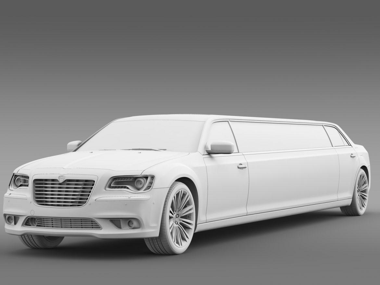 lancia thema limousine 3d model 3ds max fbx c4d lwo ma mb hrc xsi obj 212862