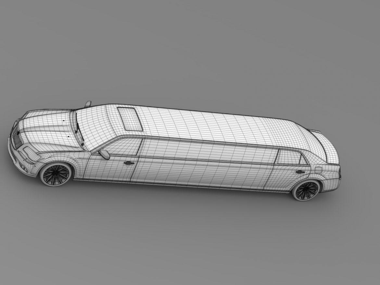lancia thema limousine 3d model 3ds max fbx c4d lwo ma mb hrc xsi obj 212864
