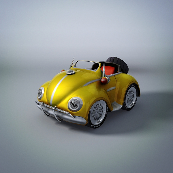 the beetle 3d model max fbx obj 212928