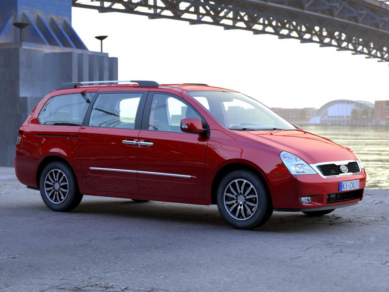 Kia Carnival 2011 3d model 0