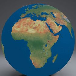 EarthGlobe16k 3d model 0