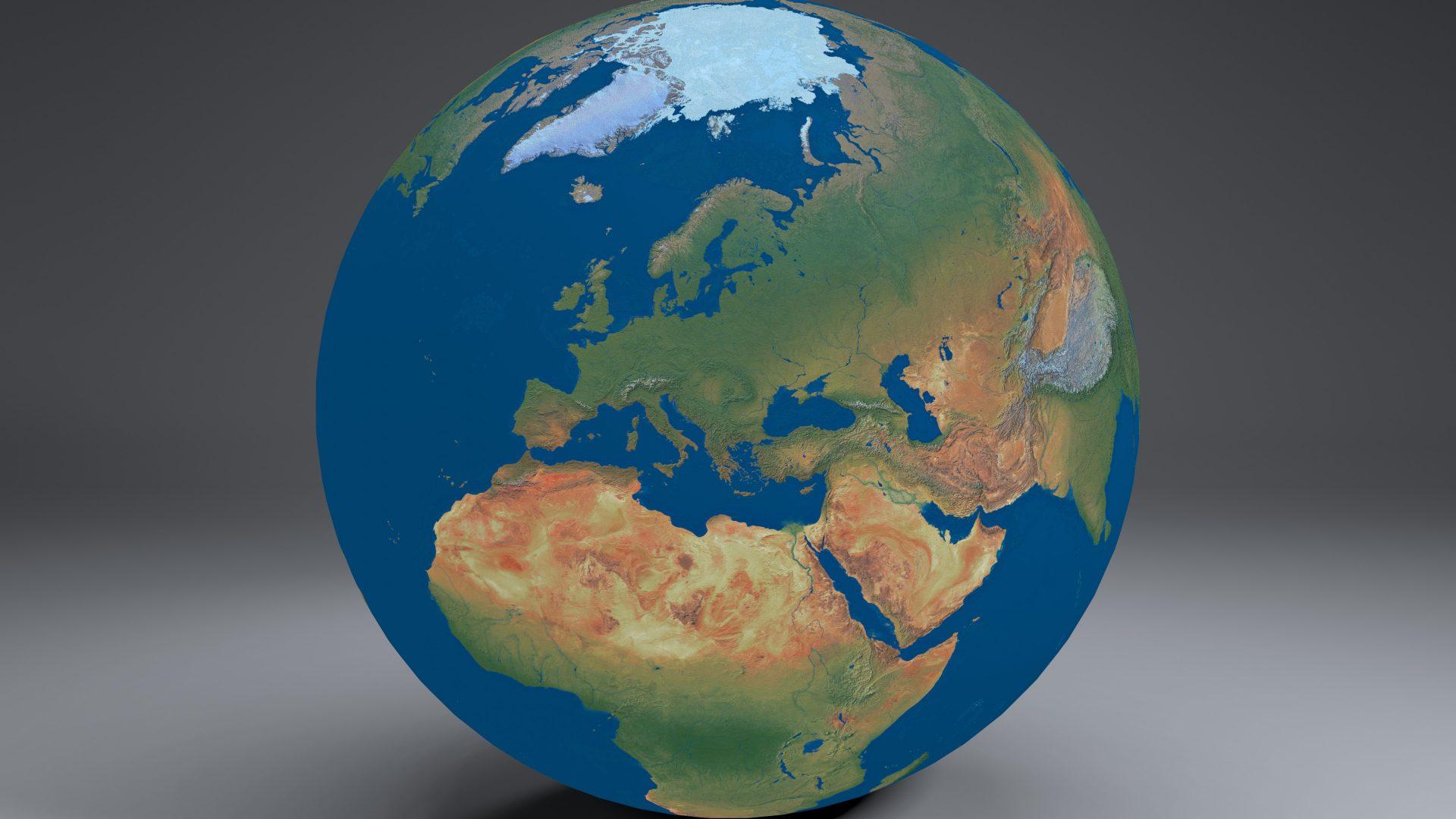earthglobe16k 3d model 3ds fbx blend dae obj 212965