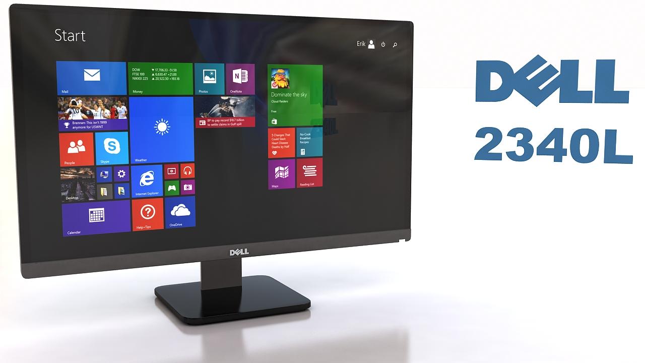 Dell 2340L 3d model max 212968