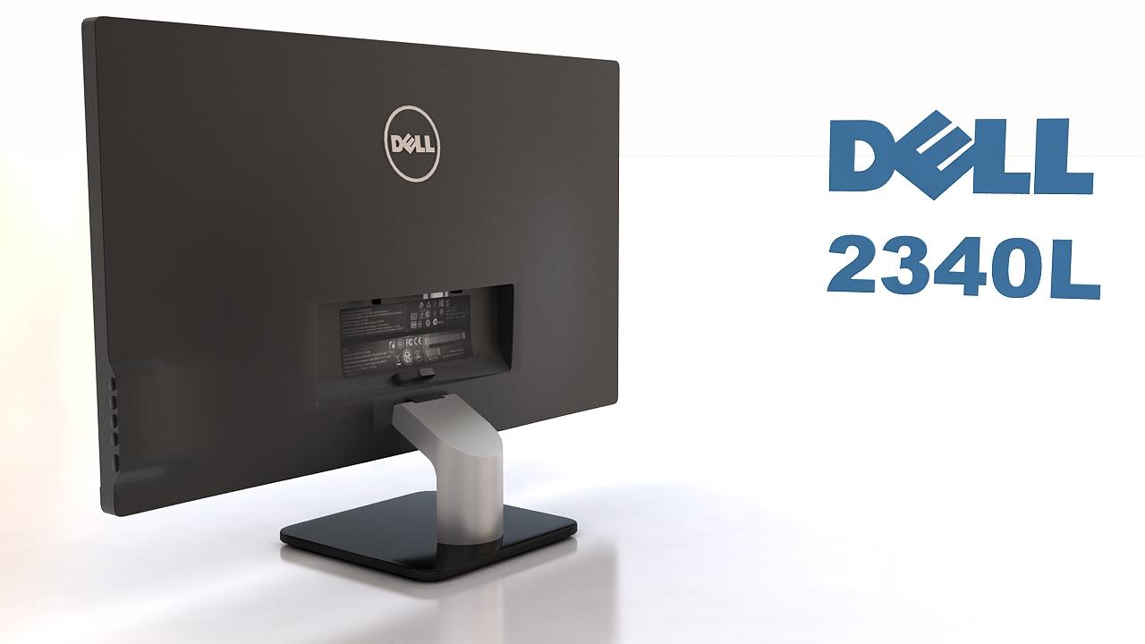 dell 2340l 3d model max 212972