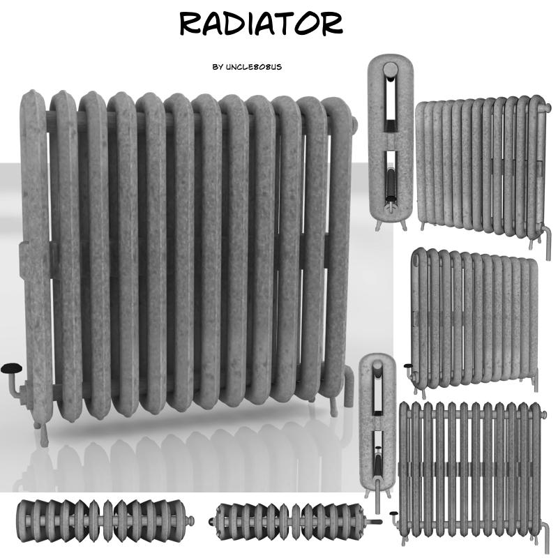 Radiator - model №5 3d model fbx 213007