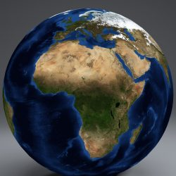 EarthGlobe 21k 3d model 0