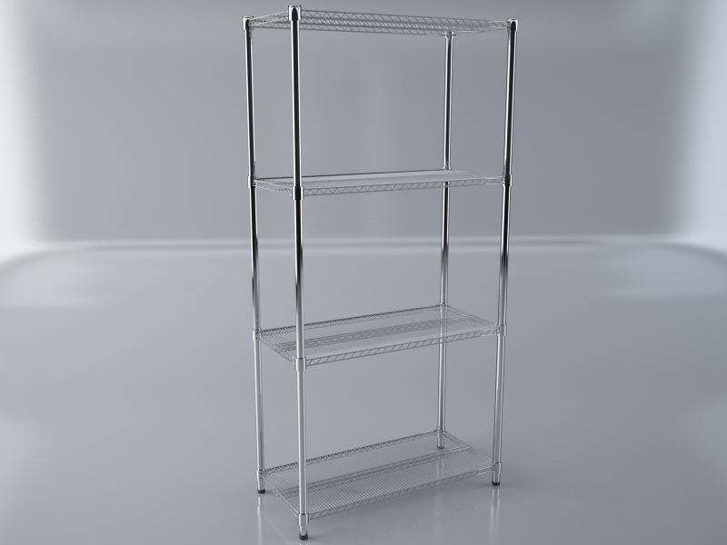 Storage shelf 3d model max obj 213057