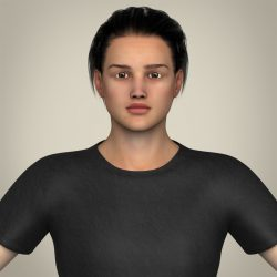 Realistic Handsome Teenage Boy ( 222.25KB jpg by cghuman )