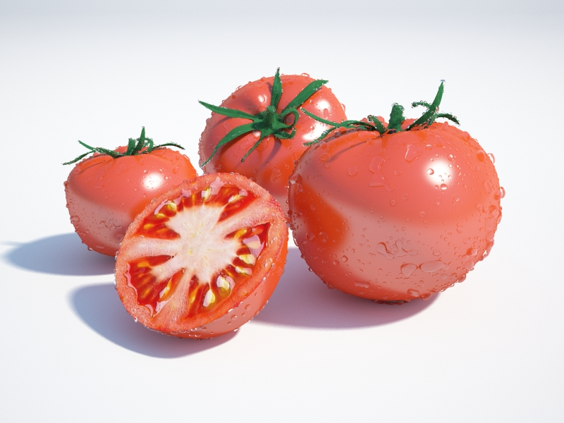 tomatoes 3d model max jpeg jpg obj 213090