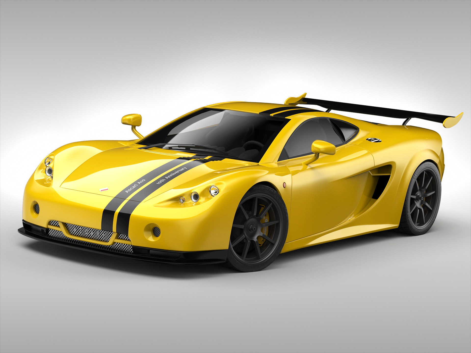 ascari a10 3d model 3ds max fbx obj 213104