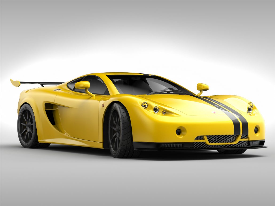 ascari a10 3d model 3ds max fbx obj 213107