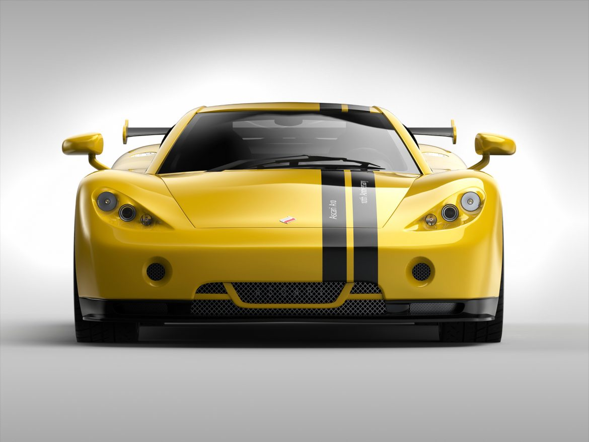 ascari a10 3d model 3ds max fbx obj 213108