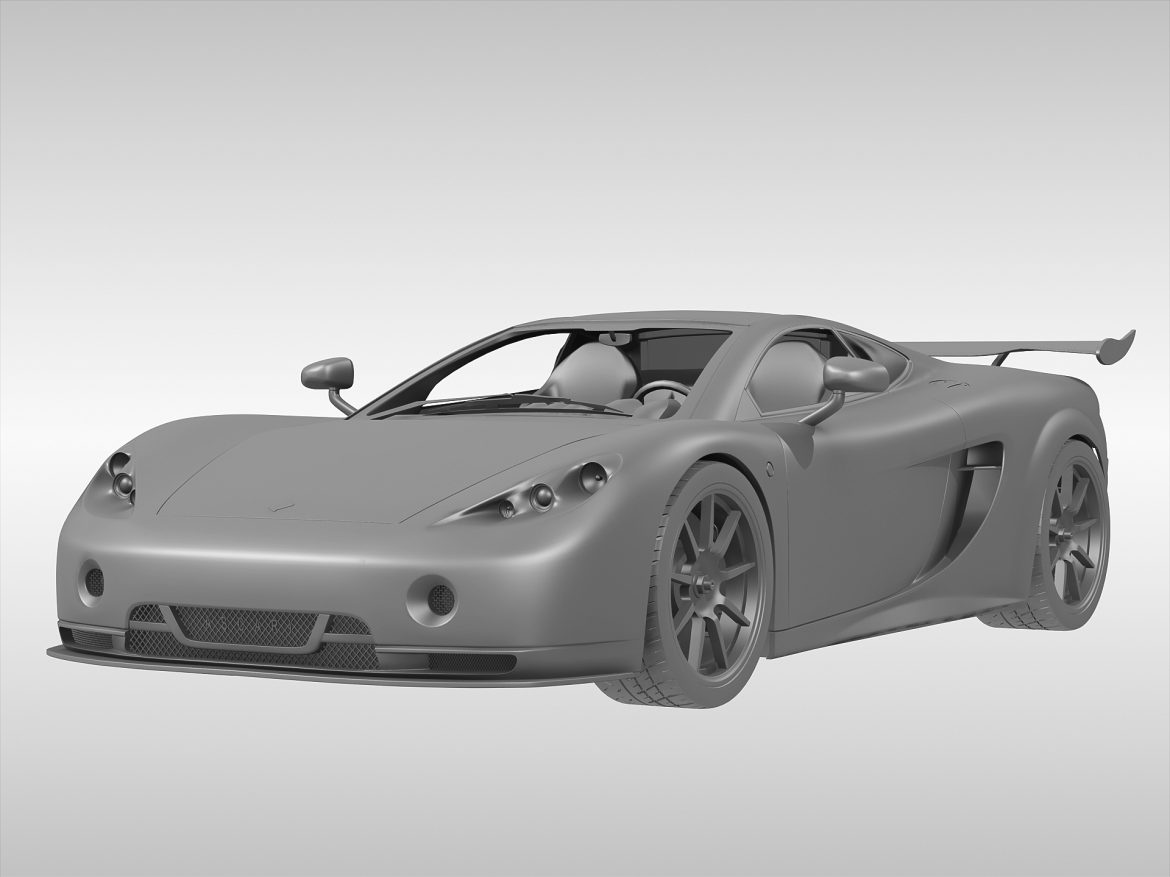 ascari a10 3d model 3ds max fbx obj 213109