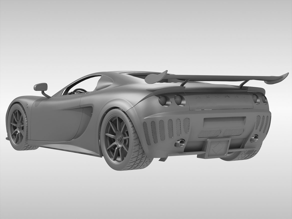 ascari a10 3d model 3ds max fbx obj 213110