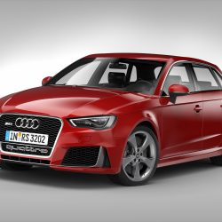 Audi RS3 Sportback (2016) 3d model 3ds max fbx obj