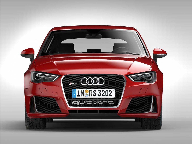 audi rs3 sportback (2016) 3d model 3ds max fbx obj 213143