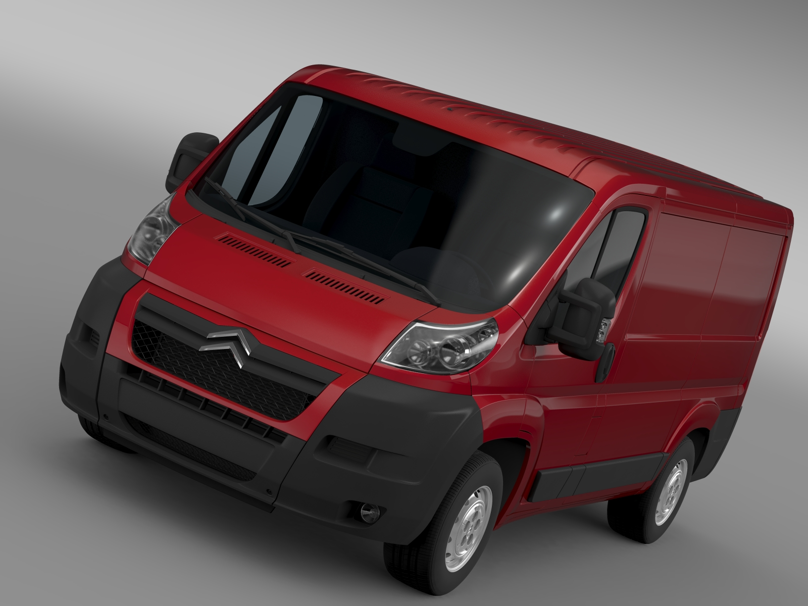 citroen jumper 250 l1h1 2006 -2014 3d model 3ds max fbx c4d hr hr xsi obj 213169