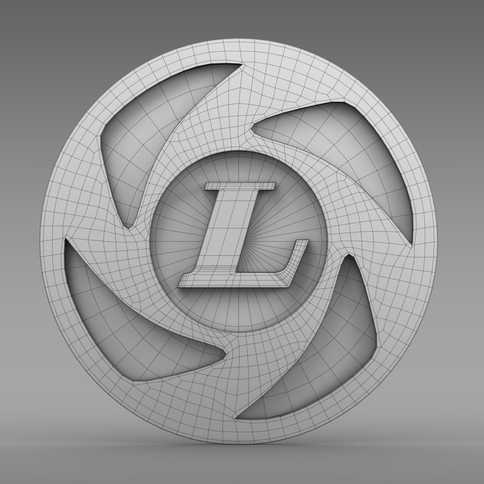 ashok leyland logo 3d model � buy ashok leyland logo 3d