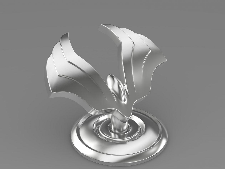 ssang yong chairman logo 3d model 3ds max fbx c4d lwo ma mb hrc xsi obj 213236