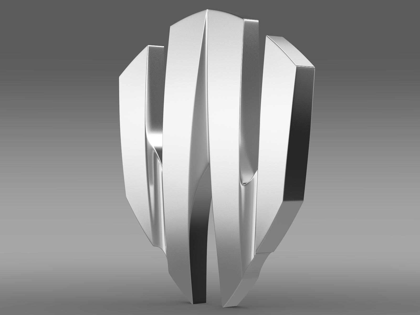 w motors lykan hipersport logo 3d model 3ds max fbx c4d lwo ma mb hrc xsi obj 213242
