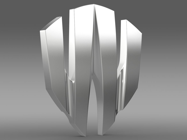 w motors lykan hypersport logo 3d model 3ds max fbx c4d lwo ma mb hrc xsi obj 213244