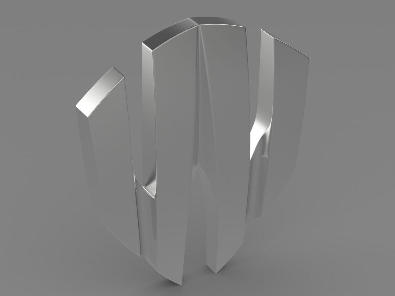 w motors lykan hypersport logo 3d model 3ds max fbx c4d lwo ma mb hrc xsi obj 213247