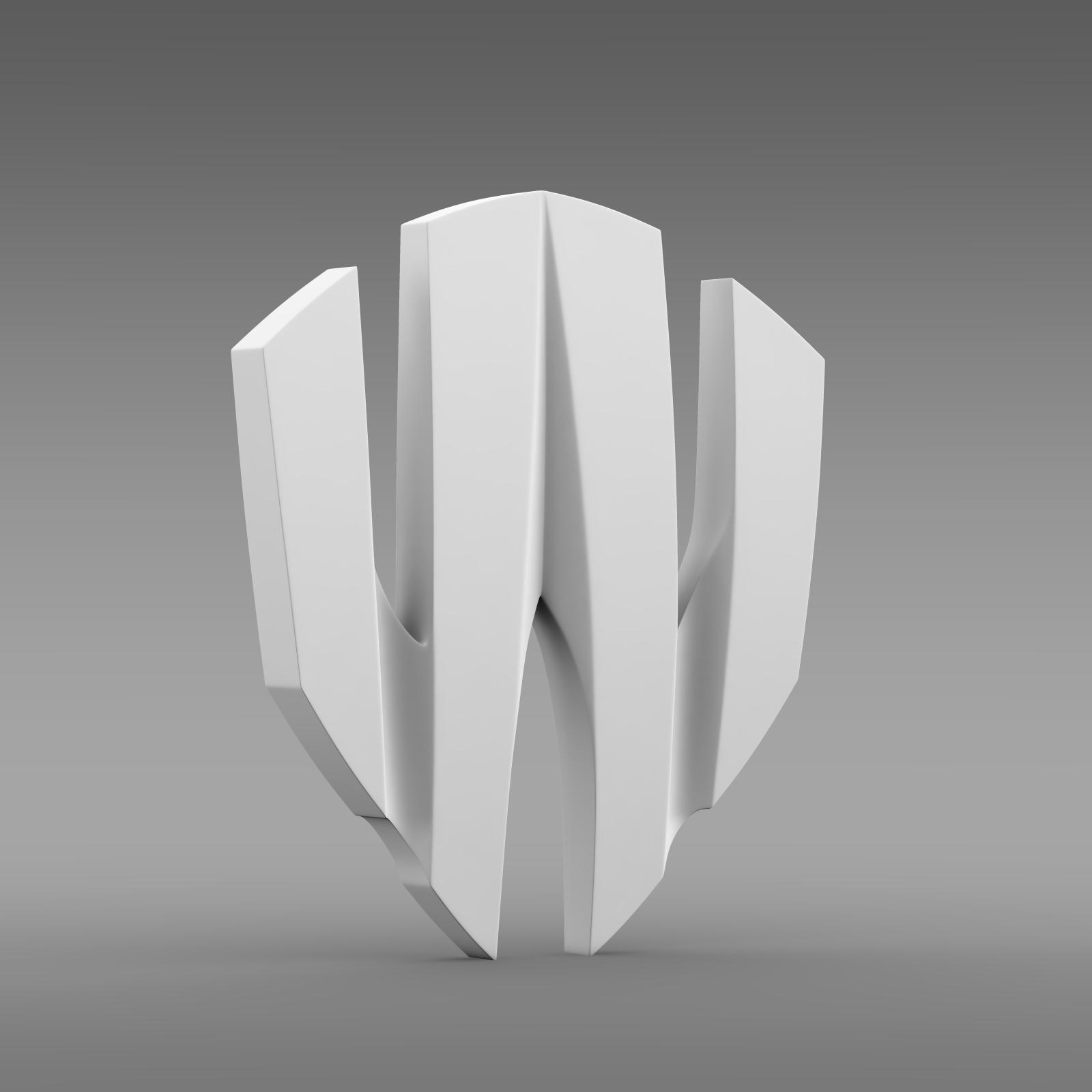 w motors lykan hypersport logo 3d model 3ds max fbx c4d lwo ma mb hrc xsi obj 213250