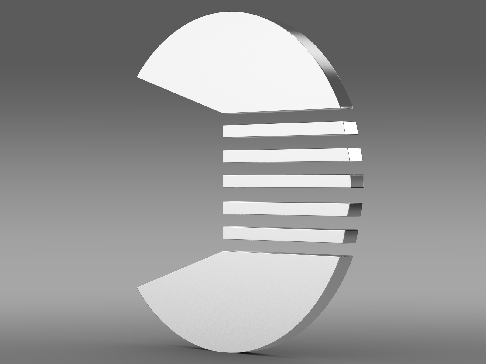 quant logo 3d model 3ds max fbx c4d lwo ma mb hrc xsi obj 213253