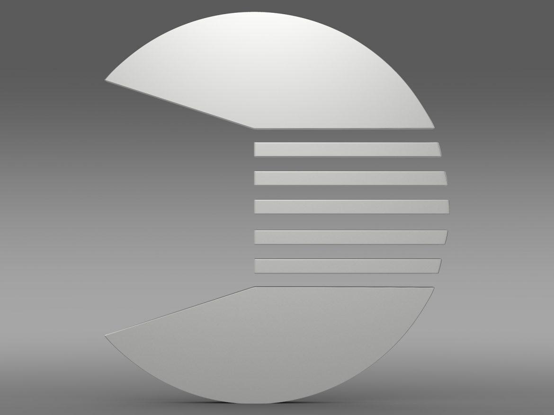 quant logo 3d model 3ds max fbx c4d lwo ma mb hrc xsi obj 213254