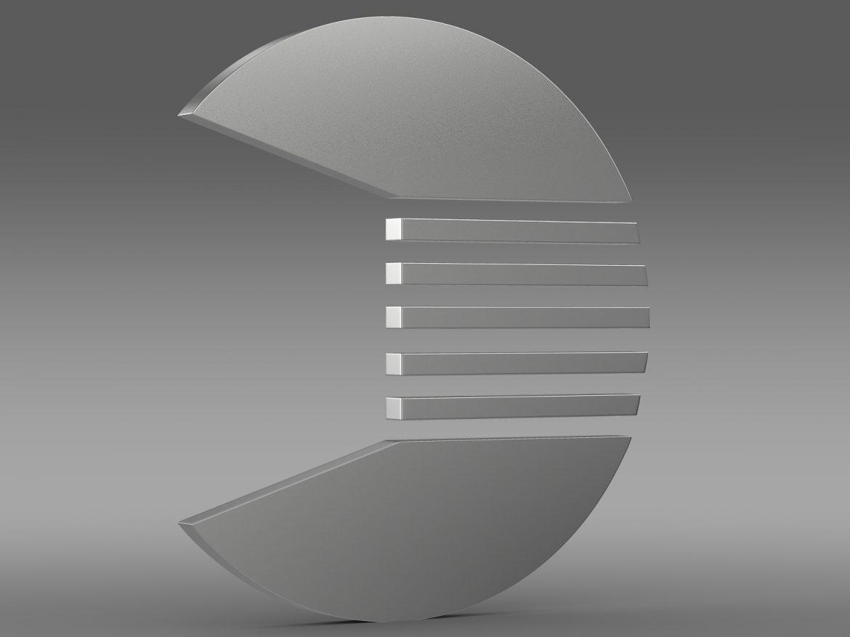 quant logo 3d model 3ds max fbx c4d lwo ma mb hrc xsi obj 213255