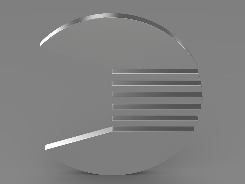 kv. logo 3d modelis 3ds max fbx c4d lwo ma mb hrc xsi obj 213257